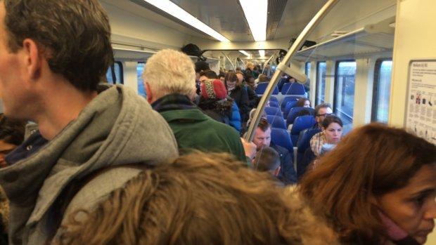 Tim's volle treinenblog 21 maart