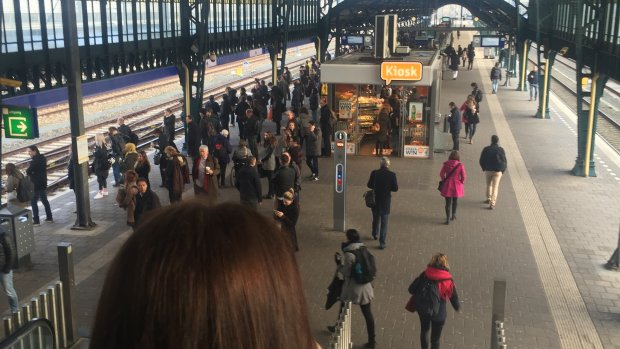Lot's volle treinenblog 22 maart