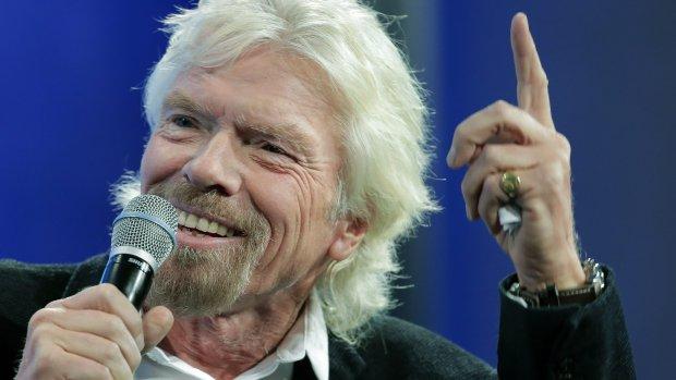 Miljardair Branson richt zich op supersonisch vliegen