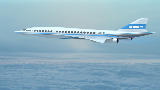 Boom bouwt aan een nieuwe, snellere versie van de Concorde