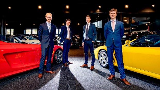 Jonge ondernemers starten Funda voor luxeauto's