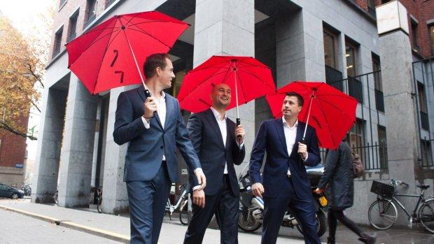Crowdfundactie voor Delftse paraplu's loopt storm