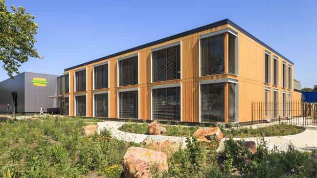 Het 'duurzaamste kantoor ter wereld' staat in Limburg