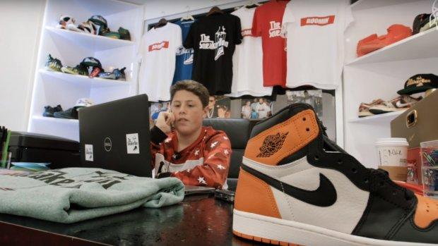 16-jarige verkoopt voor 'tonnen' aan sneakers via Instagram