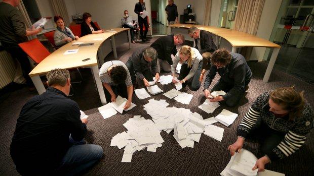 Fout getelde stemmen wel meegerekend bij uitslag referendum