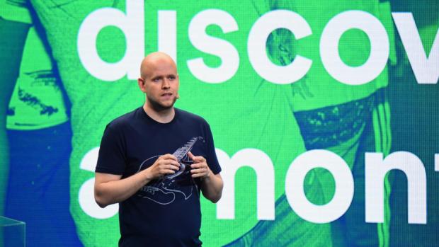 Spotify dreigt te verhuizen naar VS