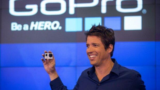 GoPro kaapt Apple-designer, koers schiet omhoog