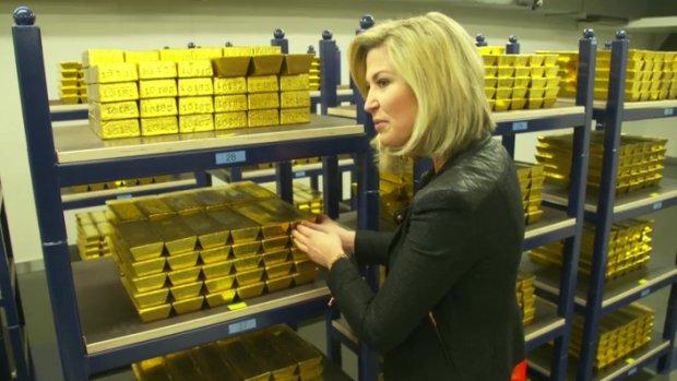 Het ligt er echt: voor 6 miljard euro aan goud bij DNB