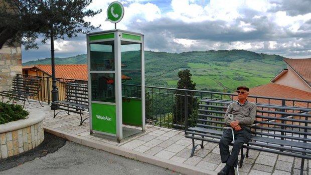 Tinder en Whatsapp komen tot leven in Italiaans dorpje