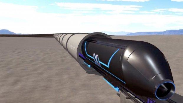 Eerste Hyperlooptest vindt vandaag plaats in Las Vegas