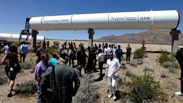 Vliegende start voor Hyperloop: eerste test succesvol