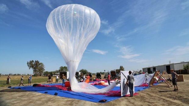 Google stopt met wifi-drones, zet in op ballonnen