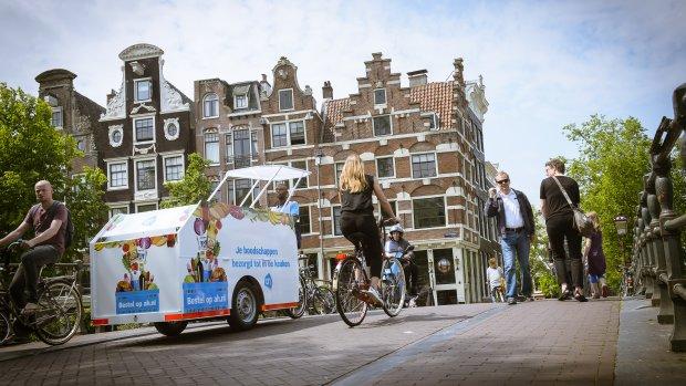 Albert Heijn gaat (weer) op de fiets bezorgen