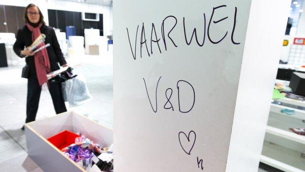 Faillissement V&D kost Mango 700.000 euro