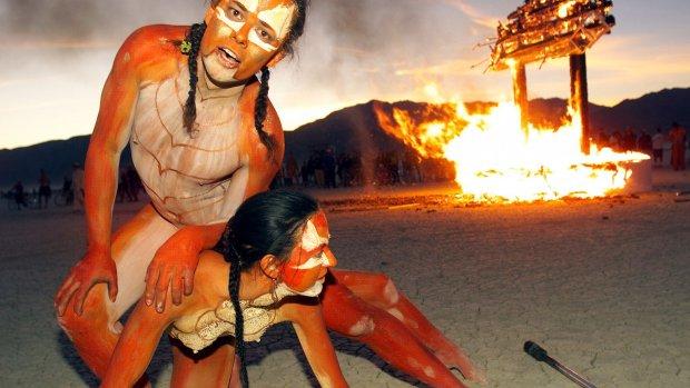 Burning Man komt naar Nederland (maar je kunt er niet heen)