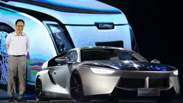 Deze Chinese auto rijdt helemaal op zonne-energie
