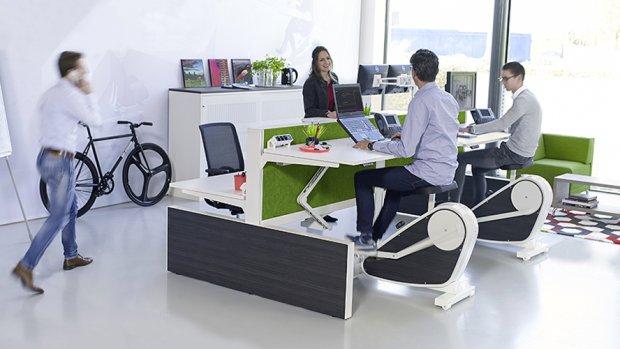 Fietsen achter je bureau: zo beweeg je meer op je werk