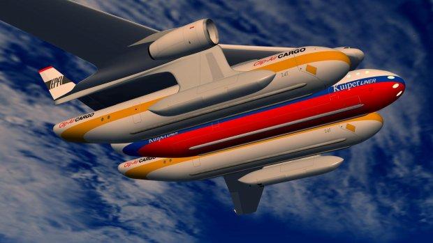 Zwitsers ontwerpen hybride vliegtuig dat verandert in een trein