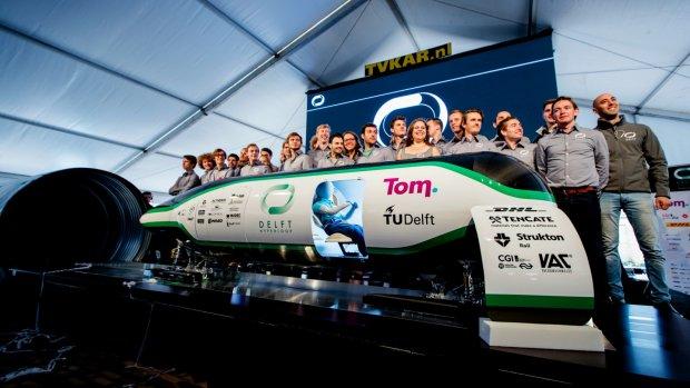 Nog even geduld voor TU Delft: Hyperloop-wedstrijd uitgesteld