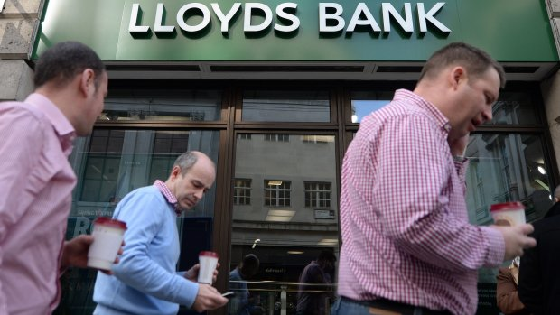 Brexit-effect: Britse bank Lloyds schrapt 3000 banen
