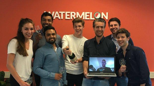 'Beste jonge ondernemers' failliet na ruzie met WhatsApp