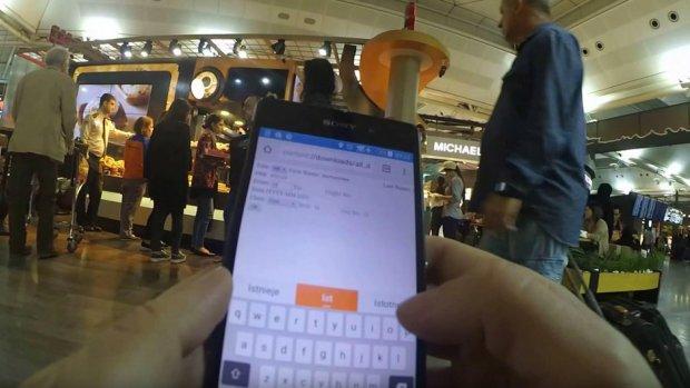Hacker komt luxe vliegtuiglounges binnen met neppe qr-code