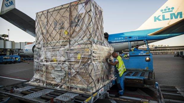 Nieuwe cao en collega's voor grondpersoneel KLM