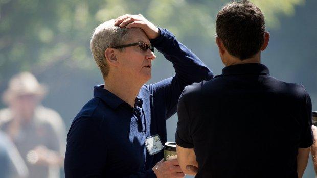 Naheffing Apple: de druiven zijn voor iedereen zuur