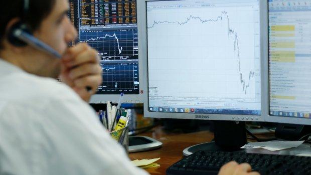 'Gekke beursdag vandaag, vooral vanwege stijging euro'