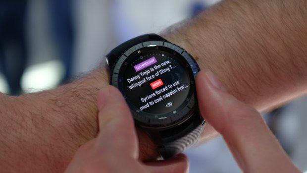 Veel dikker en iets beter: Samsungs nieuwe smartwatch Gear S3