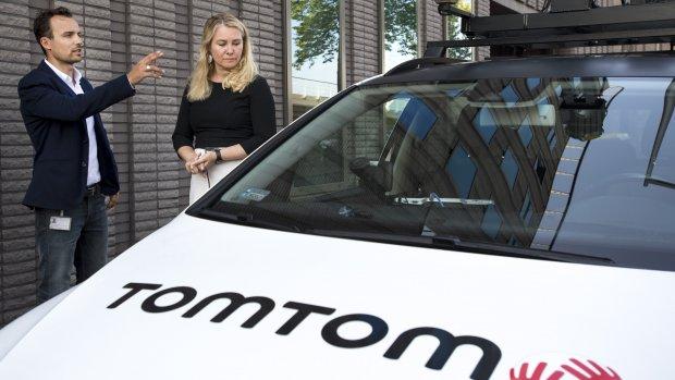 TomTom ontwikkelt navigatiesysteem voor zelfrijdende auto's