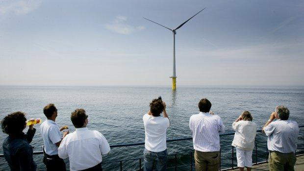 We maken weer meer groene stroom, dankzij windmolens
