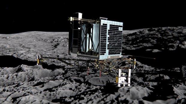 Rosetta maakt laatste foto en crasht na 12 jaar op komeet