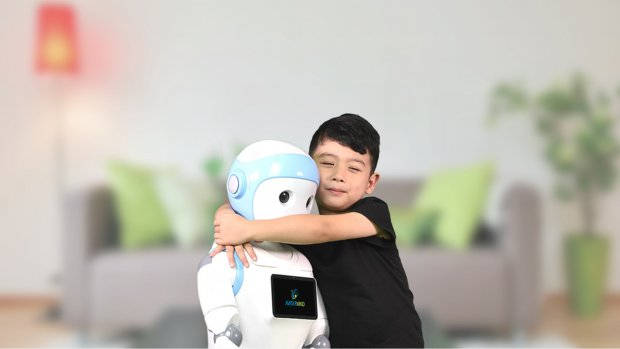 Deze robot voedt zelfs je kinderen op