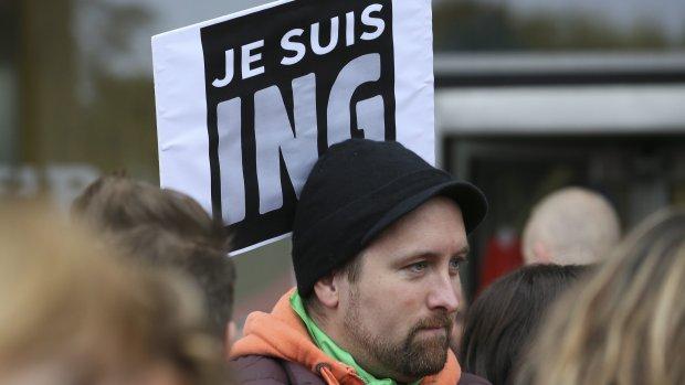 Personeel ING België staakt: 200 kantoren dicht