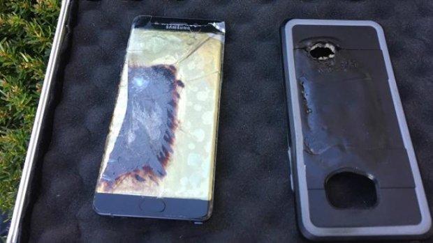 Drie toestellen van Samsung in brand