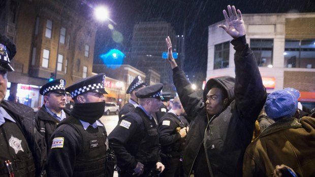 Politie VS volgde zwarte demonstranten via Facebook en Twitter