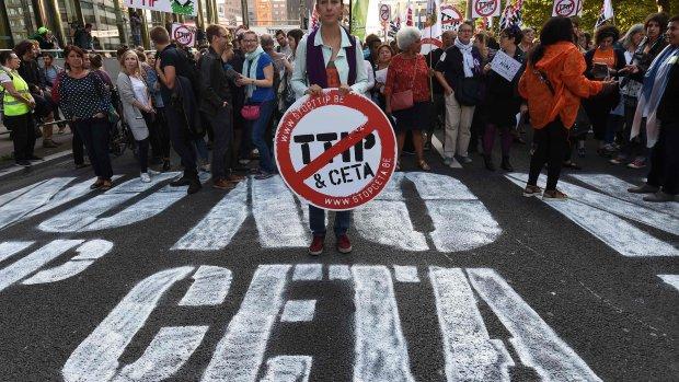 'Vrijhandelsverdragen TTIP en CETA ontberen legitimiteit'