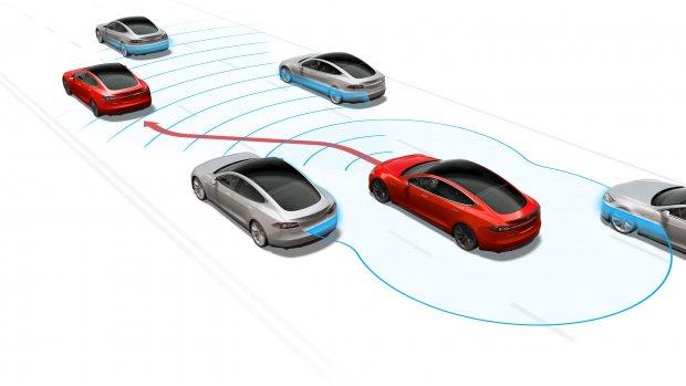 Alle Tesla's straks zelfrijdend (maar ze doen het nog niet)