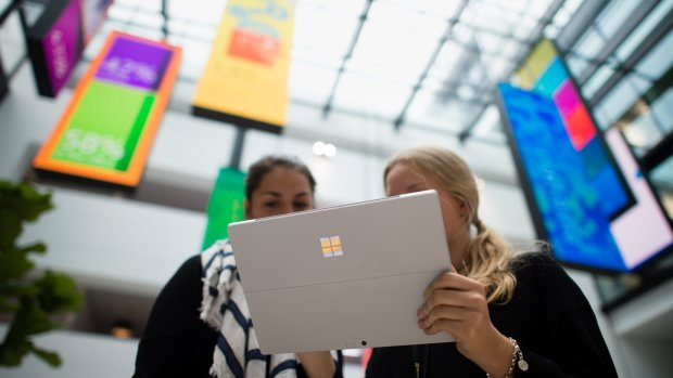 Recordkoers Microsoft: hoger dan tijdens dotcombubble van 1999