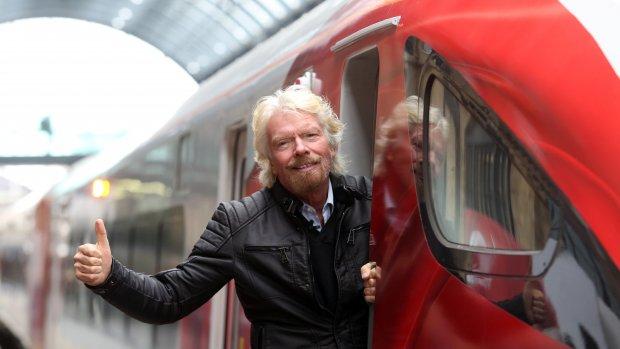 15.000 mensen solliciteren als machinist voor Bransons treinen