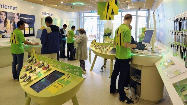 KPN ziet omzet opnieuw dalen, consumentenmarkt in de lift