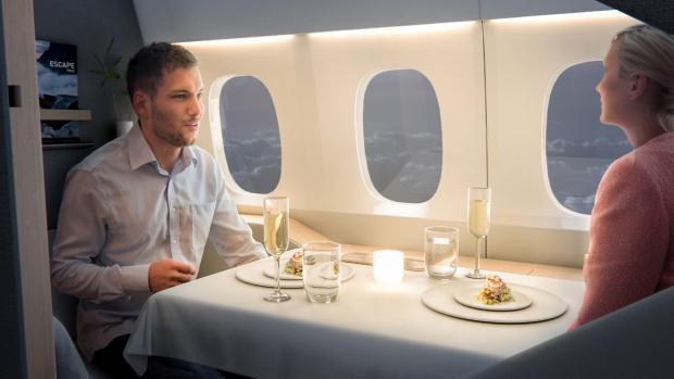 Business class vliegen wordt nog luxer