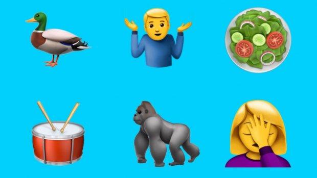Eindelijk: er zijn emoji voor de avocado, selfie en ¯\_(ツ)_/¯