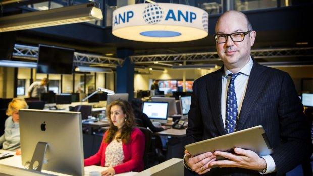 Persbureau ANP boekt opnieuw verlies in roerig jaar