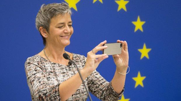 Eurocommissaris Vestager over megaboete voor Google