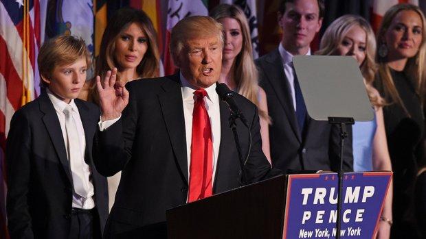 'Ik zal president zijn voor alle Amerikanen'