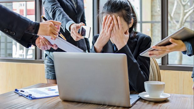 Werkstress maar geen begrip baas