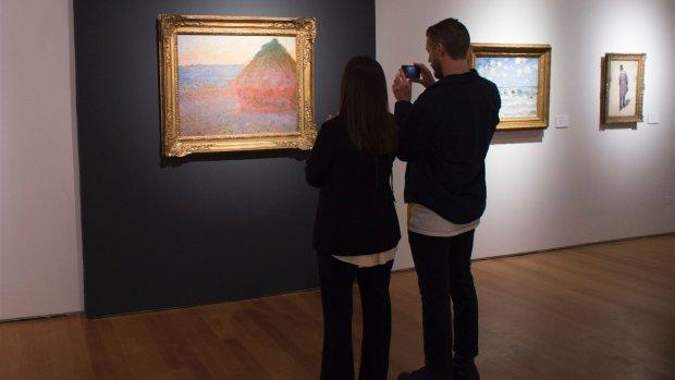 Recordbedrag voor schilderij van Monet: 81 miljoen dollar