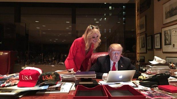 Niet mailen zoals Trump is zo lachwekkend nog niet